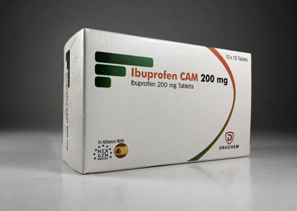 Ibuprofen Cam
